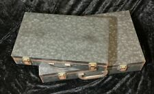 Small and Large Galvenized Metal Briefcase. Costume/Modern/Home Decor. - A56