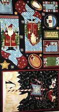 "Cotton Quilt Fabric Christmas Arctic Holiday by Debbie Mumm  23"" x 44"""