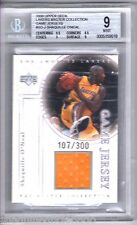 2000 UD Master Collection Game Jersey Shaquille O'Neal PATCH /300 BGS 9 SHAQ