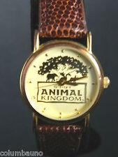 Disney Embossed  Animal Kingdom Ladies Watch! Retired! Hard To Find!