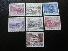 AUTRICHE - timbre - yvert et tellier n° 993 a 1000 n* - stamp austria (A3)
