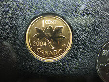 2004 UNC Specimen Canadian Penny One Cent - 1 cent coin