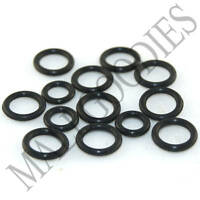 V021 Replacement Rubber Bands O-Rings Sizes 14G ~ 1-1/4 32mm Jewelry Plugs Studs