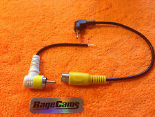 Right Angle Video Out Cable Composite RCA Plug Adapter for Gopro HD Hero2 Hero 1