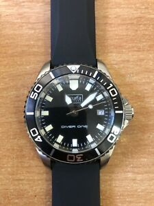 Scurfa D1 Gloss black Dive watch Diver one