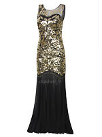 Prom Gown Gatsby 1920s Flapper Dress Party Evening Bridesmaid Dresses Plus Size