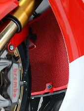 Honda CBR1000RR Fireblade 2008 - 2016 Red Radiator Guard by R&G Racing RAD0065RE