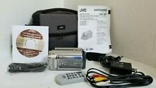 JVC Everio GZ-MG330HU Hard Disc Camcorder + Case and Remote - FREE SHIP!