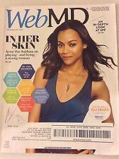 Web Md Magazine Zoe Saldana A Look At SPF July/August 2014 042917nonrh2