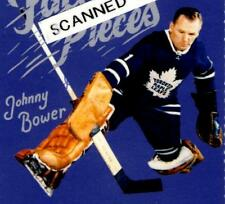 Johnny Bower Design Souvenir Ticket from Toronto Maple Leafs 100th Year