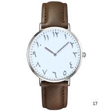 Fashion Arabic Numbers Women Quartz Watch Luxury Brand Leather Dress Wristwatch