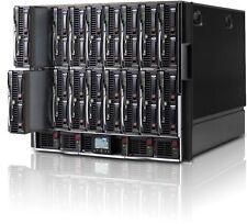 HP C7000 G2 Chassis - 16x BL460c G6 Blades 128x 2.53GHz Cores, 384GB DDR3, Rails