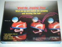 JOGGING SHOE Plastic Wind Up Toy Display Box (12 Total)