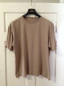 Patagonia Men's Organic Cotton Vintage T Shirt Size Large Beige