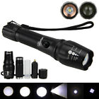 Tactical 5000LM Zoomable CREE XM-L T6 LED 18650 Flashlight Torch Zoom Lamp Light
