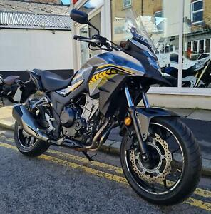 HONDA CB 500 X - 2017 - LOVELY LOW MILEAGE MOTORCYCLE!