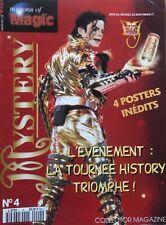 MAGAZINE  - MICHAEL JACKSON - NATIONS OF MAGIC N°4 - FRANCE