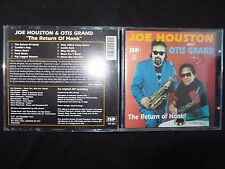 CD JOE HOUSTON AND OTIS GRAND / THE RETURN OF HONK / RARE POCHETTE /