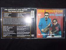 CD JOE HOUSTON AND OTIS GRAND / THE RETURN OF HONK / RARE POCHETTE /