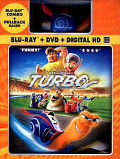 Turbo (Blu-ray/DVD, 2013, 2-Disc Set, With Toy Racer)