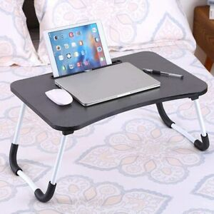 Laptop Bed Table Foldable Sofa Breakfast Tray Notebook Stand Desk Reading Holder