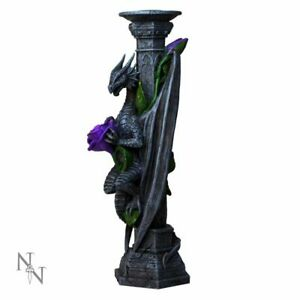 DRAGON BEAUTY Candle Holder by  Anne Stokes Gothic Fantasy Nemesis Now FREE P+P