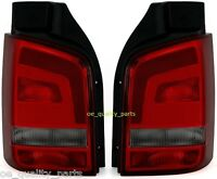 VW T5 CARAVELLE MULTIVAN V TAIL REAR LEFT + RIGHT LIGHTS LIGHT LAMP LAMPS SMOKED
