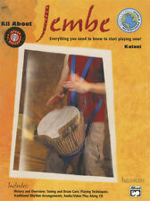 All About Jembe Djembe Hand Drum Music Book/CD Learn How to Play Method