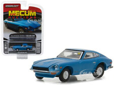 1970 DATSUN 240Z BLUE MECUM SERIES 2 1/64 DIECAST CAR BY GREENLIGHT 37140 B