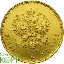 AA2459) FINNLAND 20 Markkaa 1912 S - Nicholas II. 1894-1917 - Gold