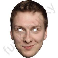 Joe lycett comédie celebrity acteur carte masque-toutes nos masques sont pré-coupé!