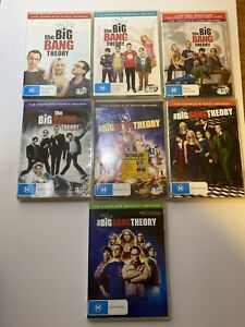 The Big Bang Theory Complete Seasons 1 2 3 4 5 6 7 All cases and Disks are Mint
