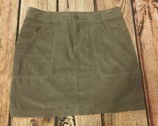Columbia Womens Size 8 skirt gray Medium