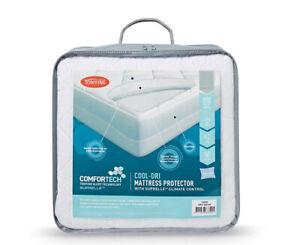 Tontine Comfortech Cool Dri Mattress Protector Queen Bed