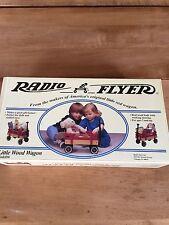 Radio Flyer Model #6 Little Wood Wagon Kit 12x7