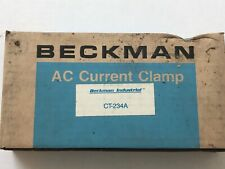 Beckman Industrial AC Current Clamp CT-234A New in box