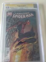 Amazing Spider-Man #1 Neal Adams And Stan Lee Signed CGC 9.8