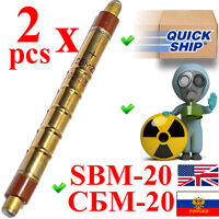 NEW 2pcs SBM-20 SBM20 an STS5 SI22G M4011 Geiger Tube Counter Radiation Detector