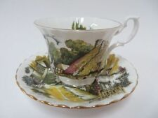 Royal Albert Teacup & Saucer Thatched Cottage Montrose Style