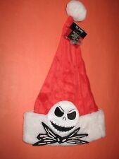 Jack Skellington Nightmare Before Christmas Santa Hat - Brand New With Tag !
