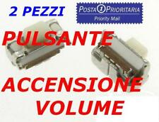 *POSTA1*2X TASTO ACCENSIONE VOLUME GALAXY S4 i9500 9505 S3 i9300 Neo i9305 i8190
