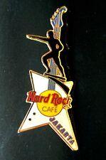 HRC Hard Rock Cafe Jakarta White Explorer Guitar + Dirgantara Statue