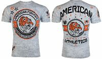 AMERICAN FIGHTER Mens T-Shirt LOUISVILLE Tiger WHITE Athletic Biker Gym $40