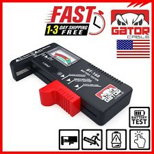 Battery Tester Checker Universal For AA AAA C D 9V 1.5V Button Cell Batteries