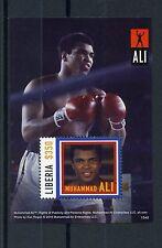 Liberia 2015 MNH Muhammad Ali 1v S/S Boxing Sports