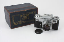 KIEV 4, 50/2 JUPITER-8M (DUST, DEBRIS), BOXED, SPEEDS SLOW, METER OFF/cks/191098