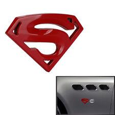 "Car Chrome Decoration Superman "" S â€� Logo Metal 3D Emblem Decal 3M Sticker Badge(Fits: Kia)"