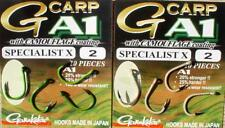 Gamakatsu Karpfenhaken Super Specialist X, grün oder braun, Boilie Hook, Carp