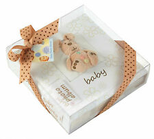 "Plush Bunny Baby Slip In Photo Album Holds 160 4x6"" 10x15cm Photos Memo Area"