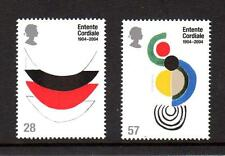 2004 GB ENTENTE CORDIALE SG 2446 - 2447 MNH